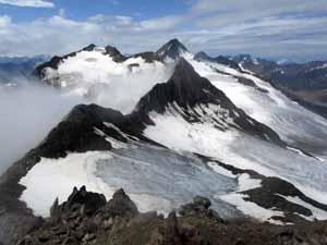 ザイコーゲル山頂からの展望